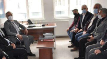 Başkan Savran'dan CHP'ye iade-i ziyaret