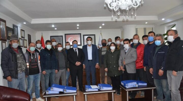 Gülşehir Belediyesinden işçilerine % 20 zam
