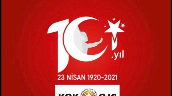 KGK: 23 Nisan 101 yıllık onur ve gururumuz