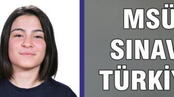 Altınyıldız Koleji Öğrencisi Türkiye 12.si oldu