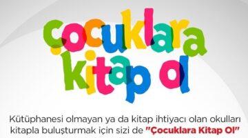 Türk Kızılay Nevşehir şubesi çocukları kitap olmaya çağırıyor