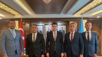 Türker,'Ülkü Ocakları Genel Merkezi ziyaretimizi tamamlamış bulunmaktayız'