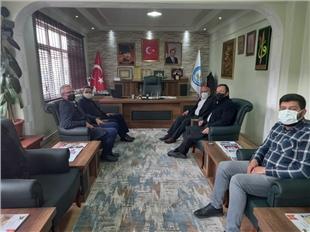 Gizligider Başkan Aksoy'u ziyaret etti
