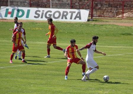 Gazi Stadında Maç Başladığı gibi bitti Nevşehir Belediyespor- 0 Kızılcabölükspor- 0