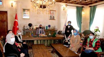 Ürgüp Genç İHH'dan Başkan Aktürk'e ziyaret