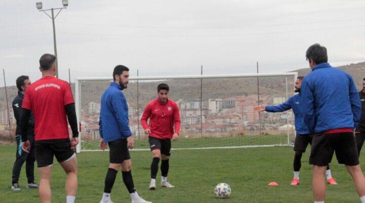 Nevşehir Belediyespor'da Kızılcabölükspor mesaisi başladı