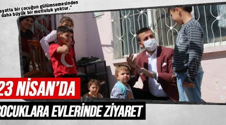 Başkan Aktürk'ten çocuklara 23 Nisan Sürprizi