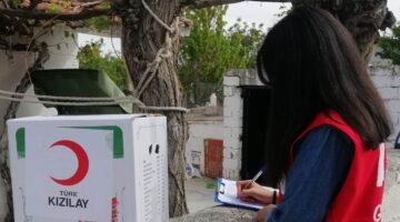 Nevşehir Kızılay ihtiyaç sahibi ailelere ulaşıyor