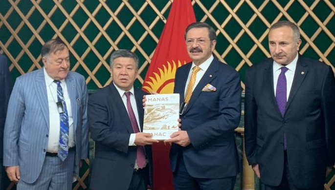 Hisarcıklıoğlu ve Parmaksız'dan Kırgızistan ziyareti