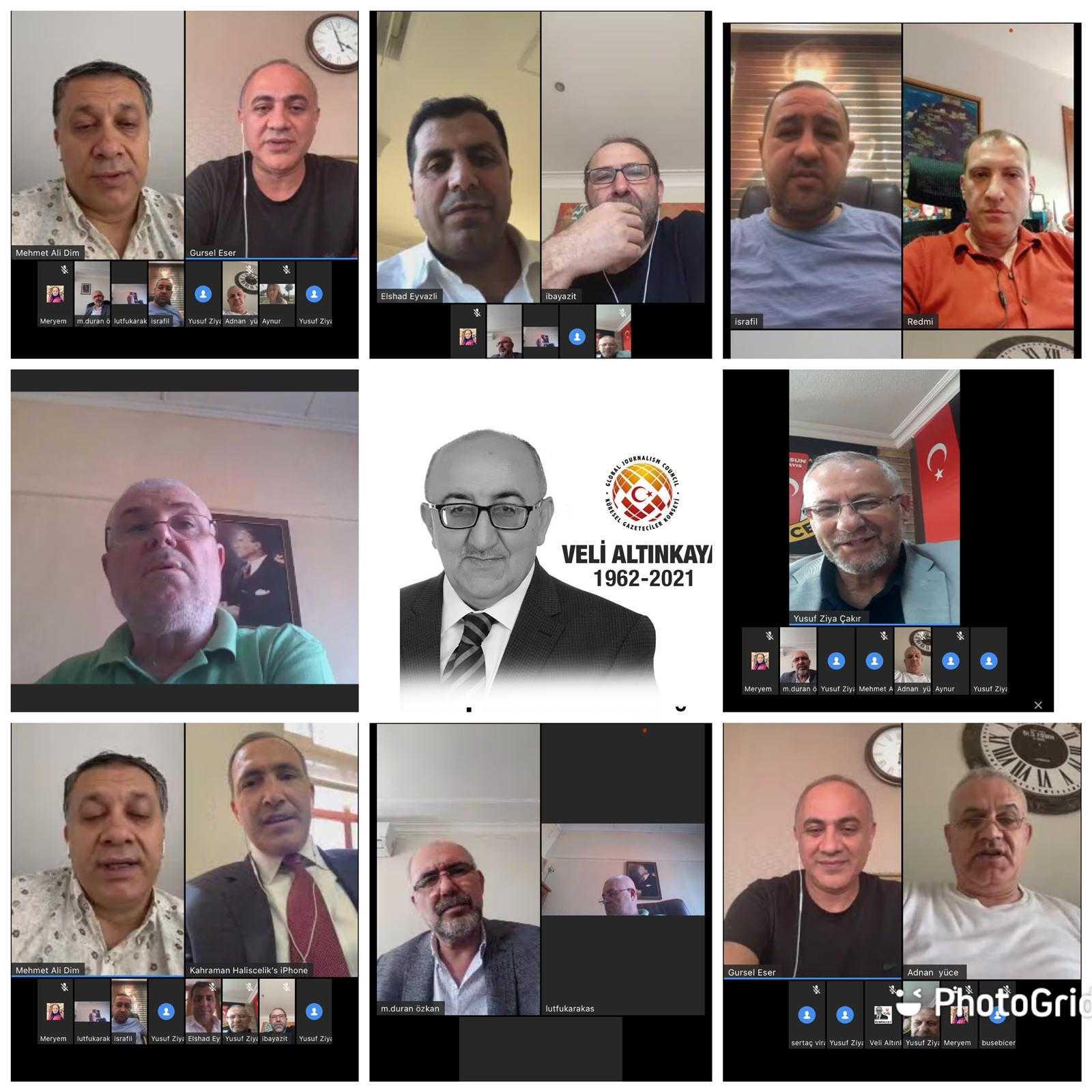 KGK Yönetim Kurulu online toplandı