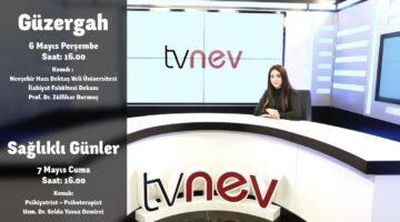 Tvnev'de canlı yayınlar devam ediyor