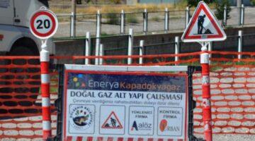 Gülşehir de doğalgazsız ev kalmayacak