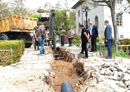 Avanos Belediyesi, tam kapanmayı fırsata çevirdi.