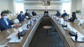 Nevşehir heyeti, Ulaştırma ve Altyapı Bakanı Karaismailoğlu ile görüştü