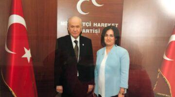 MHP Kadın Kolları Başkanı Gürbüz görevi  bıraktı