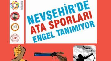 Nevşehir'de ata sporları engel tanımıyor