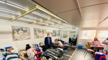 Nevşehir Kızılay Kan Bağış Tırı Gülbahçe'de