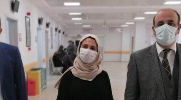 Ünlübay Yeni Nevşehir ADSM'de inceleme yaptı