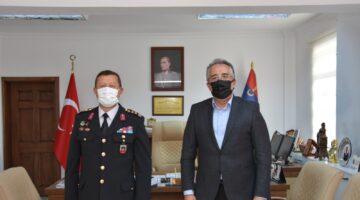 Başkan Savran'dan Komutanlara ziyaretler