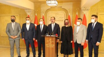 Bakan Kasapoğu Nevşehir'de gezi ve incelemelerde bulundu