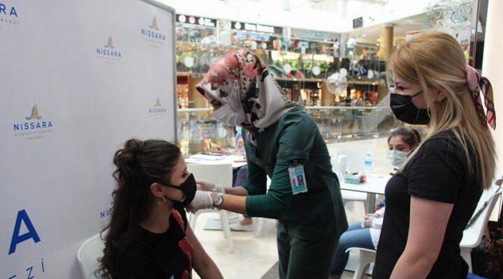 Nevşehir'de 184 bin 853 doz aşı yapıldı