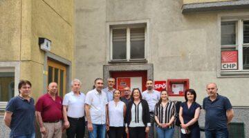Altıok CHP Avusturya örgütünü ziyaret etti