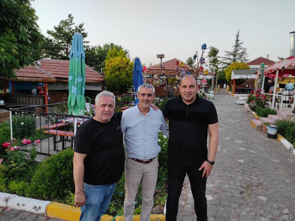 MHP'li başkanlardan Altıok'a geçmiş olsun ziyareti