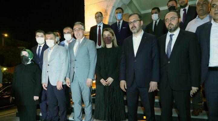 Bakan Kasapoğlu Nevşehir Belediyesi'nde