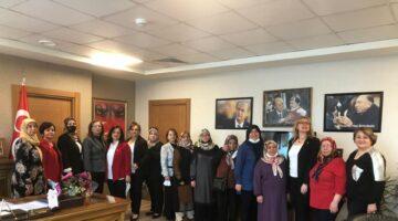 MHP'li kadınlardan Başkent ziyaretleri