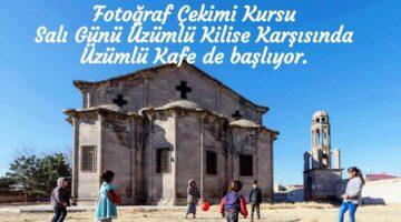 Tarihi Kilisede fotoğrafçılık kursu