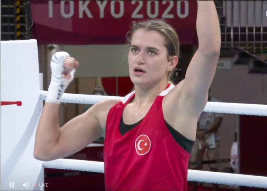 Altınyıldızlı Olimpiyatlardaki Milli Gururumuz Esra Yıldız'a Çeyrek Finalde Başarılar Dileriz