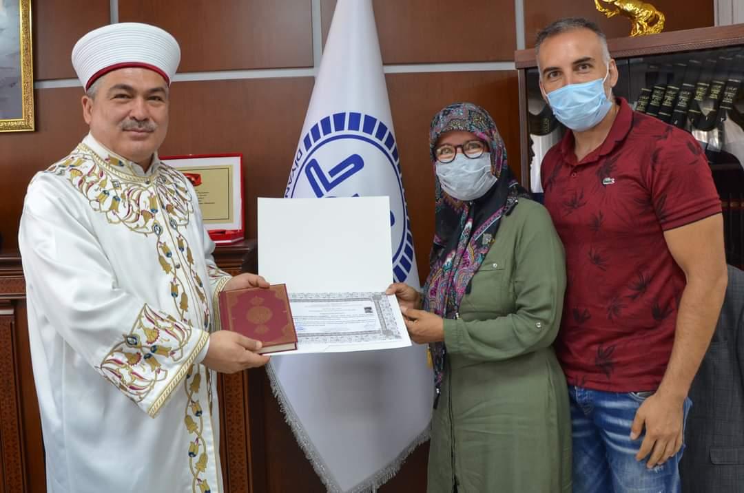 Tatil için geldiği Nevşehir'de Müslüman oldu