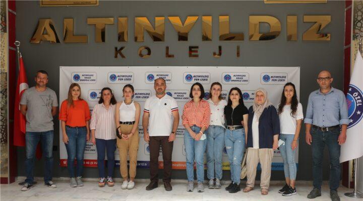 2021 Üniversite Sınavı Türkiye Şampiyonlarından Altınyıldız Kolejine Teşekkür Ziyareti