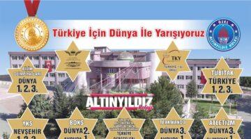 Altınyıldız, Türkiye için Dünya ile yarışıyor!