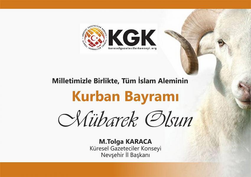 KGK Başkanı Karaca, Kurban Bayramı'nı kutladı