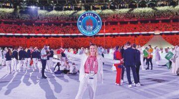 Altınyıldızlı Milli Gururumuz Esra Yıldız'a Olimpiyatlarda Başarılar Dileriz
