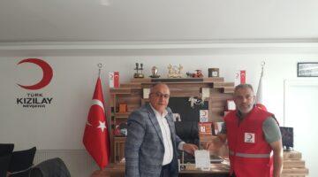 Başkan Aksoy'dan Kızılay'a Kurban Bağışı