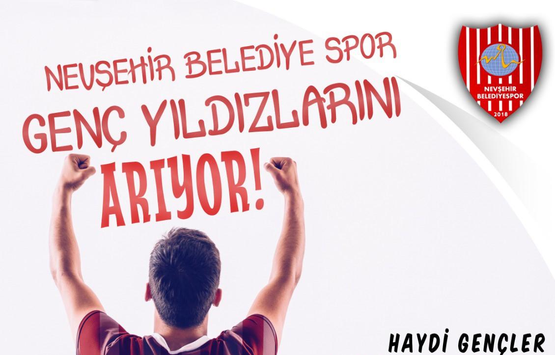Nevşehir Belediyespor yeni yetenekler arıyor