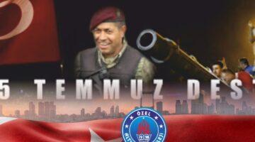 Şehitlerimizi ve Gazilerimizi Saygı ve Minnetle Anıyoruz