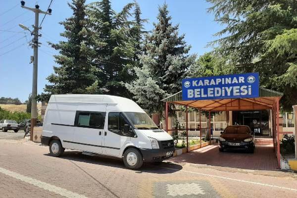 Karapınar belediyesi araç parkını büyütmeye devam ediyor