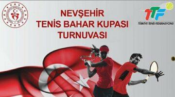 Tenis Bahar turnuvası düzenleniyor