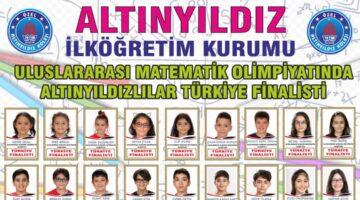 Altınyıldızlılar Uluslararası Matematik Olimpiyatı Türkiye Finalisti