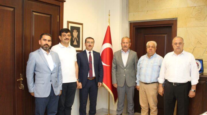 Nevşehirli iş adamlarından Başsavcı Çınar'a 'Hayırlı Olsun' ziyareti