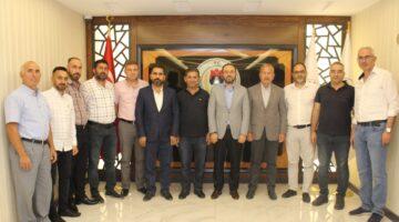 AK Parti heyetinden Nevşehir Ticaret Borsası'na ziyaret