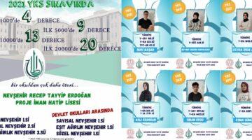 RTE Anadolu İmam Hatip Lisesinden YKS'de de rekor başarı