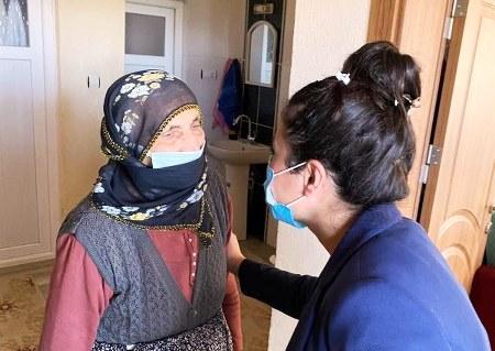 Acıgöl Kaymakamından Şehit ailesine ziyaret