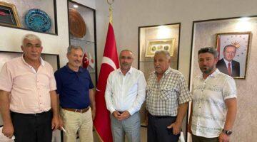 Başkan Dinç İnallı köyü heyetini misafir etti