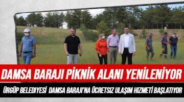 Damsa Barajı yenileniyor