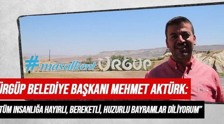 Başkan Aktürk, Kurban Bayramı'nı kutladı