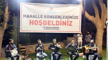 Nejdet Ersan Parkı'nda müzik ziyafeti